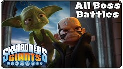 Skylanders Giants All Bosses