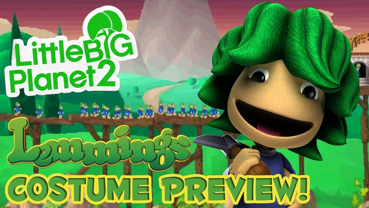 LittleBigPlanet 2 DLC - Lemmings Costume Preview! - YouTube - photo#22