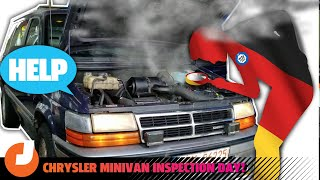 homepage tile video photo for I Took A 250,000-Mile Minivan Through Germany's Rigorous Car Inspection And It Was A Disaster