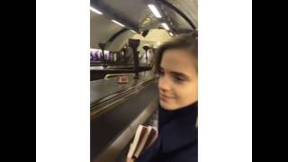 Emma Watson Instagram Video November 1, 2016