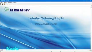 LED WALKER software tutorial