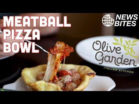 New Olive Garden Meatball Pizza Bowl Is INSANE || News Bites