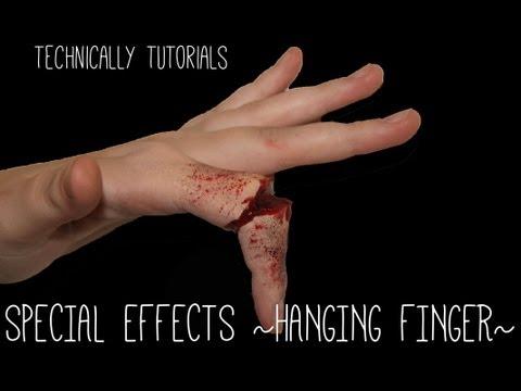 Special Effects Broken/Hanging Finger | Technically Tutorials