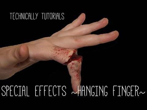 Special Effects Broken/Hanging Finger | Technically Tutorials