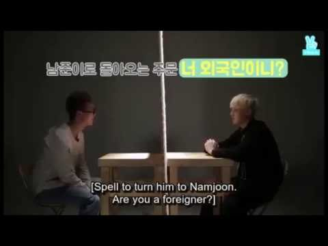 Are you foreigner? - Suga of BTS