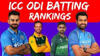 ICC ODI Rankings - Batsmen (2010-2019) | ICC Ranking 2019 | Virat Kohli | Rohit | WorldRankings