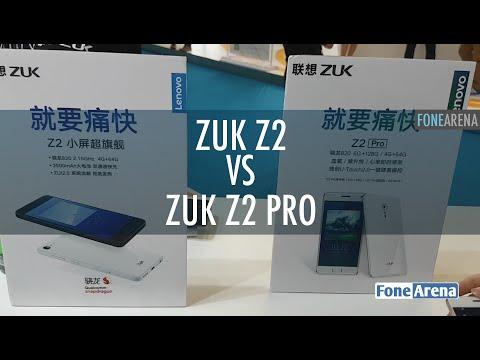 ZUK Z2 vs Z2 Pro Hands On
