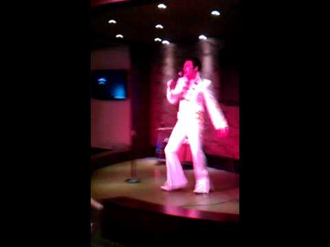Mark Summers as Elvis @ G Casino Newcastle