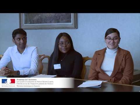 Printemps De L'économie : Les Lycéens Mènent L'enquête à L'IGF