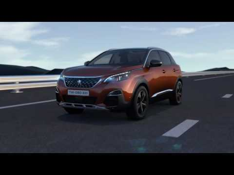 Nieuwe Peugeot 3008 SUV - Active Safety Brake