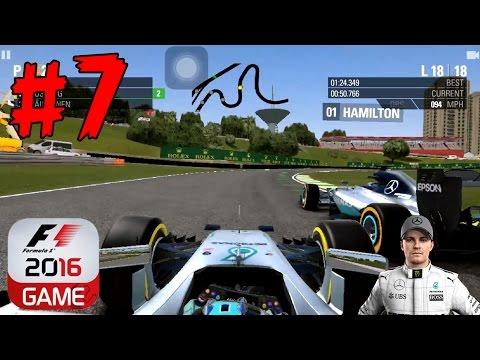F1 2016 - FORMULA 1 GRANDE PREMIO DO BRASIL 2016 - NICO ROSBERG - iOS/Android Mobile Gameplay - EP7