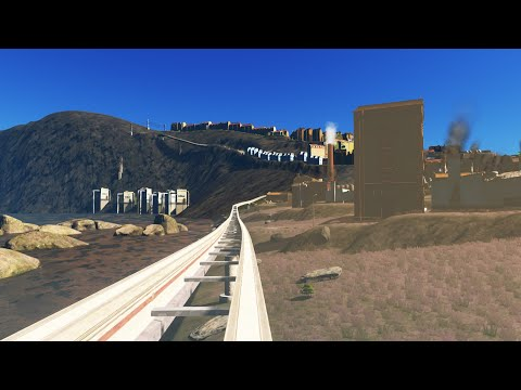 CITIES: SKYLINES – First Person ride on the Oaktown Monorail. |