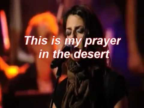 Desert Song by Hillsong United. w/lyrics
