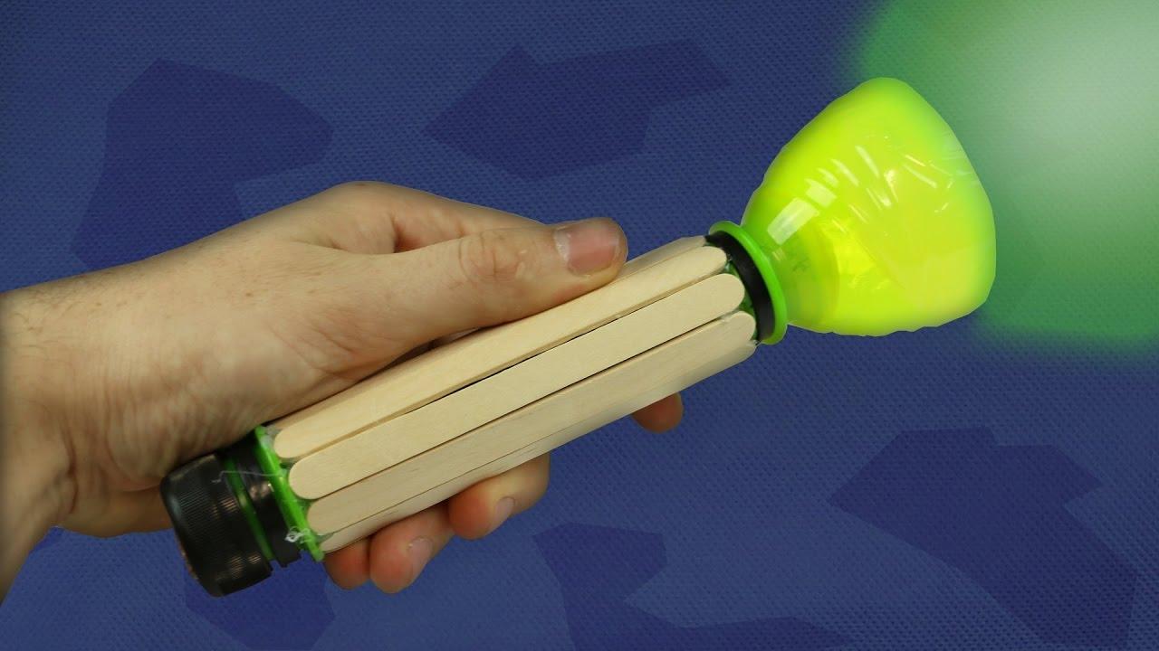 Make A Plastic Bottle Flashlight Ultra Bright Torch