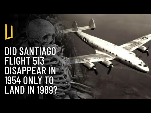 The Missing Santiago Flight 513 Lands After 35 Years?!