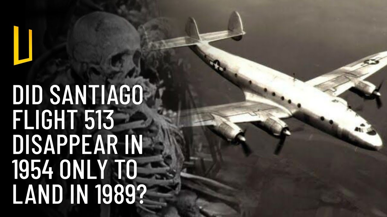 Santiago Flight 513 The Missing Plane That Landed After 35 Years With 92 Skeletons On Board Mysteriesrunsolved