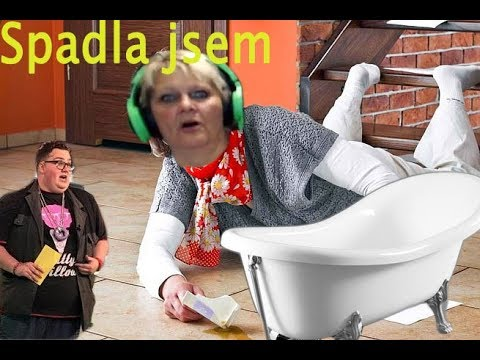 Fattyho Mama spadla v naha koupelne