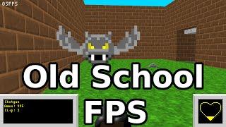 Old school FPS Update! Bats! Lighting! Swimming!