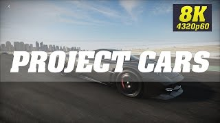 Project CARS 8K PC Gameplay [8K 60FPS] | Titan Xp (2017) 4 Way SLI | ThirtyIR