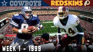 """The Rocket Comeback"" (Cowboys vs. Redskins, 1999)"