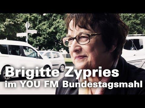 Brigitte Zypries   YOU FM Bundestagsmahl