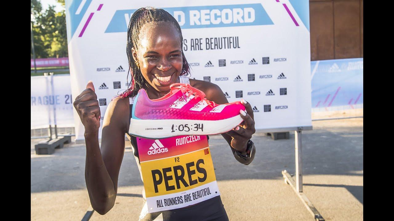 World Half Marathon Championships 2020, Peres Jepchirchir world record, World Half Marathon winner, shoes