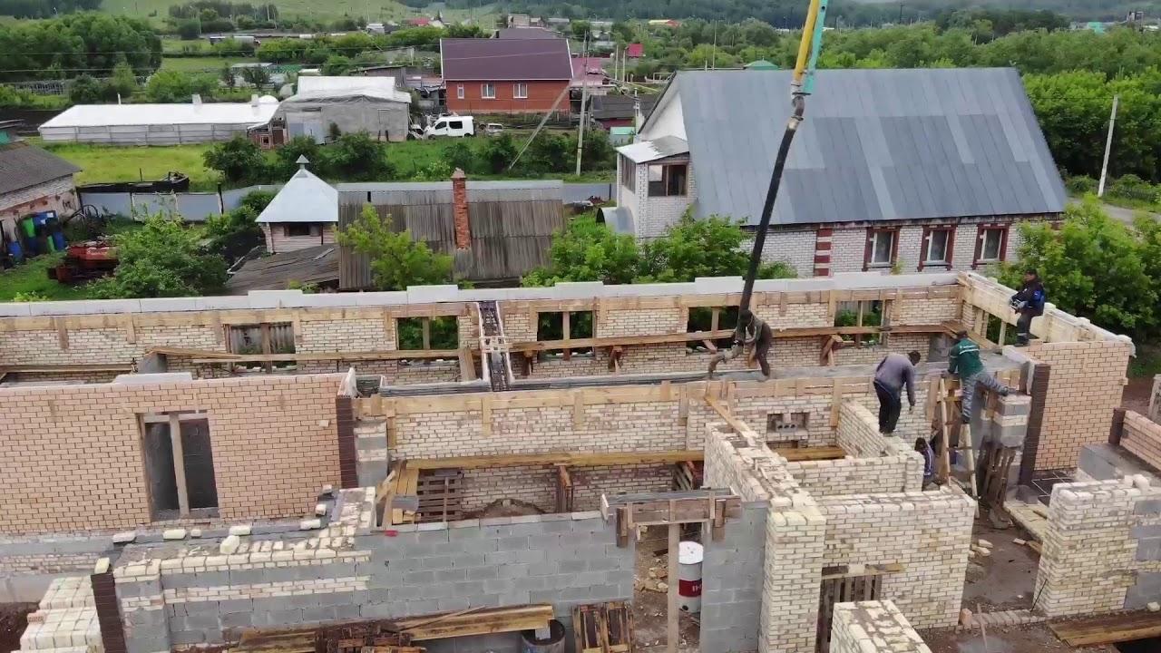 Дома заливные из керамзитобетона дюбель для бетона виды
