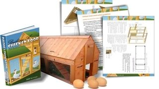 How To Easily Build An Affordable Backyard Chicken Coop With Building A Chicken Coop E-book