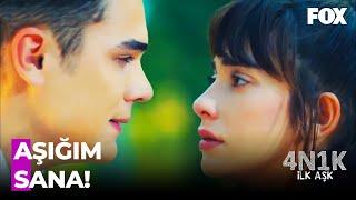 Ali, Yaprak'a İLAN-I AŞK ETTİ! - 4N1K İlk Aşk 12. Bölüm