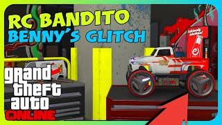 GTA Online - Ücretsiz Benny's Jantı Glitch RC Bandito (PC/PS4/XB1)