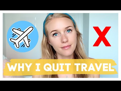 WHY I QUIT TRAVELLING | The Dark Night Of The Soul