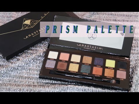 PRISM Palette/Anastasia Beverly Hills/ Preview & Swatches.