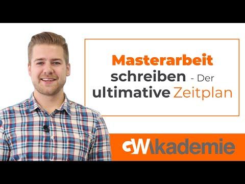 Masterarbeit Schreiben Lassen - Der Ultimative Zeitplan