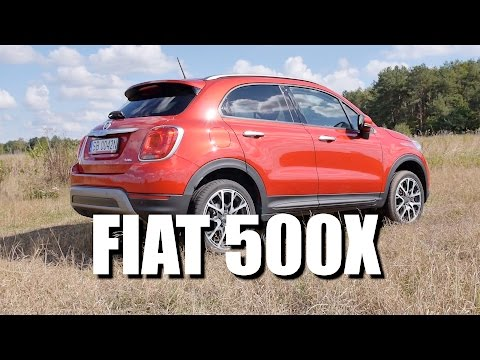 Fiat 500X ENG Test Drive and Review