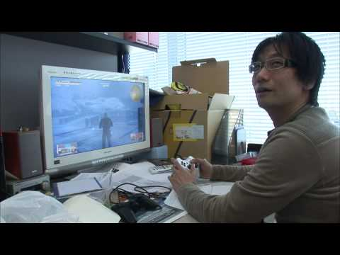 Making of Metal Gear Solid 4 - Hideo Kojima's Gene 1/4