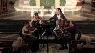 Attacca Quartet plays Haydn Op. 9 no. 6 -- Third Movement