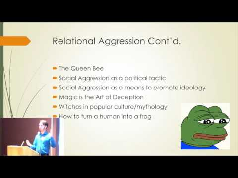 Humour, Truth, & Social Aggression - Talk at Ottawa Conference