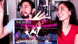 FINAL DESI HOPPERS REACTION - THE DUELS   World of Dance 2018