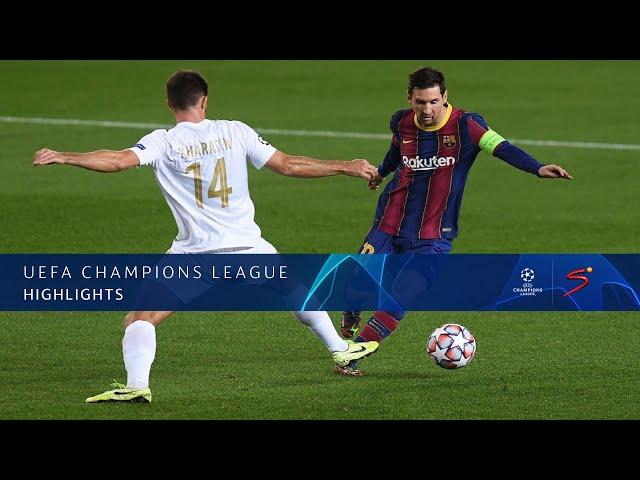 UEFA Champions League | FC Barcelona v Ferencváros TC | Highlights
