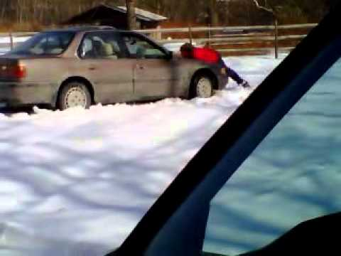 honda stuck in snow 2006 Honda Civic DX