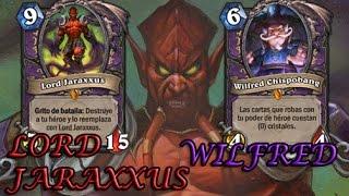 LORD JARAXXUS y WILFRED | Historia tras las Cartas | Hearthstone / Warcraft (Lore)