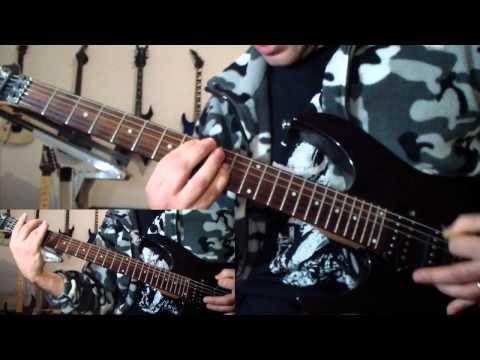 Behemoth - Blow Your Trumpets Gabriel (guitar cover)