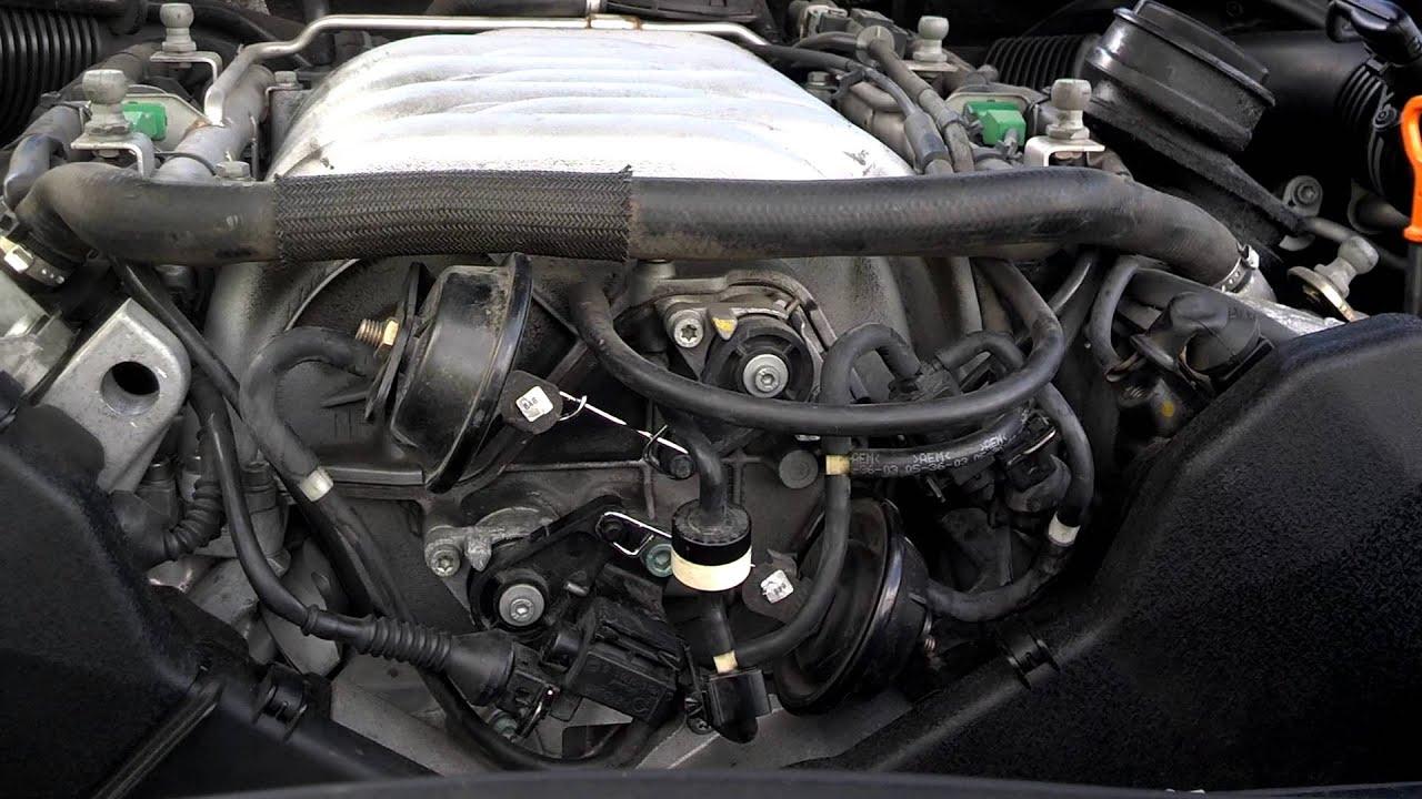 2005 vw touareg v8 intake manifold