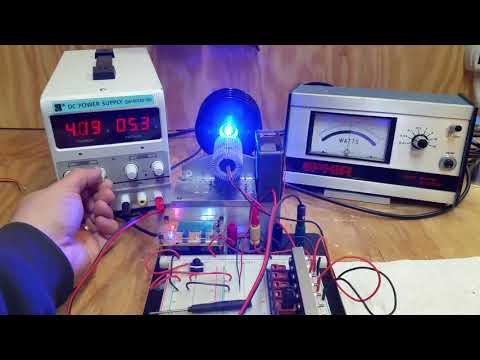 Nichia NUBM42 Laser Diode Power Test