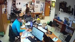 Фрагмент записи видео с камеры Link-D31TW-8G
