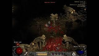 Diablo II Nude Challenge: Necromancer#4 Act 2 Nightmare