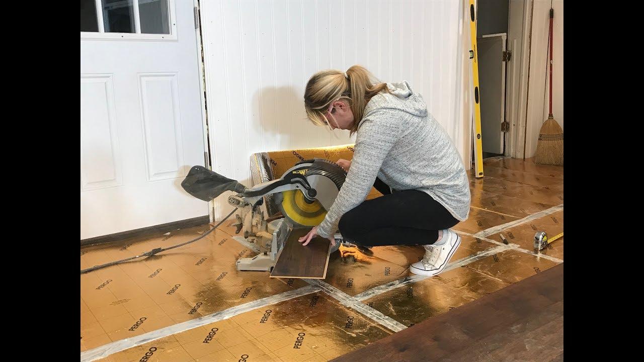 Pergo Timbercraft Wetprotect Crestridge Hickory Laminate Flooring Review Install