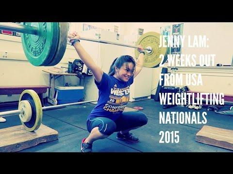 Jenny Lam: USA Weightlifting Nationals 2015
