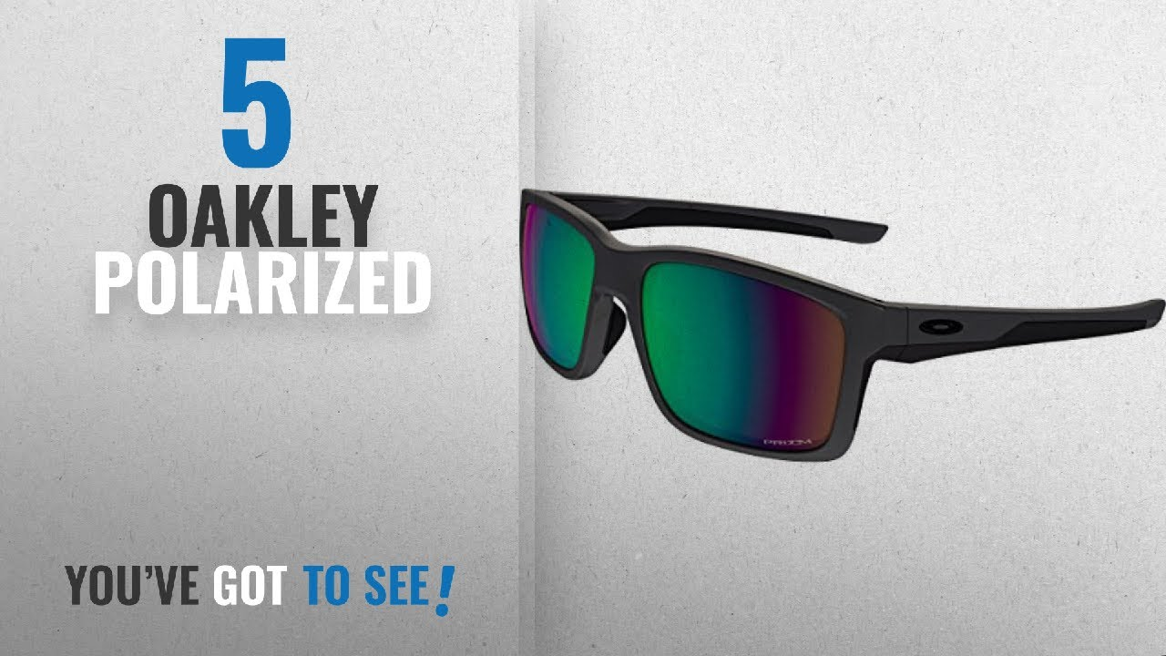 f8954841a1 Top 10 Oakley Polarized   Winter 2018    Oakley Mens Mainlink ...