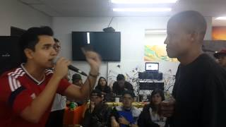 BATALLA DE GALLOS/AFTER VISION 3/SEMI/DUNKEL VS PATRON MC/FREESTYLE RAP/HIP HOP/AYARA